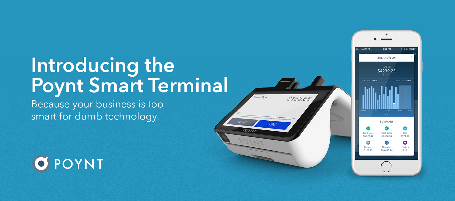 Introducing the Poynt Smart Terminal