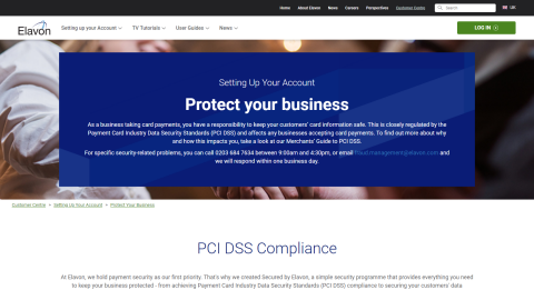 Protect Your Business - Setting Up Your Account - Customer